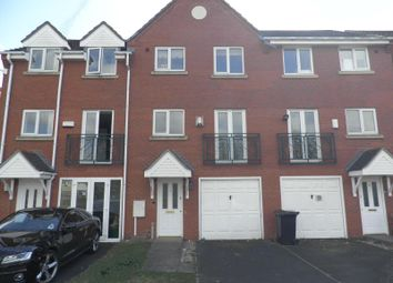 Thumbnail 3 bed town house to rent in Grayling Walk, Wolverhampton