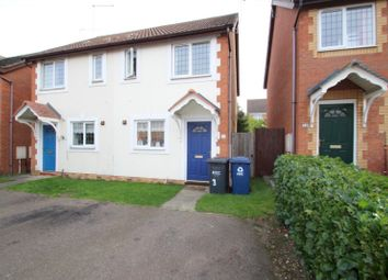Thumbnail 2 bed semi-detached house to rent in Dyson Close, Huntingdon