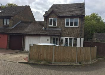 Thumbnail 3 bed link-detached house to rent in Windmill Court, County Oak, Crawley, West Sussex