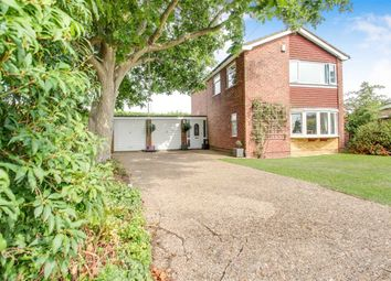 Thumbnail 4 bed detached house for sale in Exeter Close, Washingborough, Lincoln