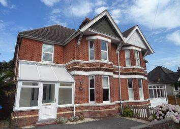 Thumbnail 4 bed semi-detached house to rent in Alexandra Road, Parkstone, Poole