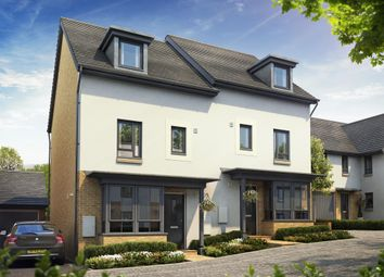 "Thumbnail 4 bed semi-detached house for sale in ""Woodbridge"" at Poplar Close, Plympton, Plymouth"