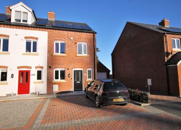 Thumbnail 3 bed end terrace house for sale in The Cloisters, Wood Street, Earl Shilton, Leicester