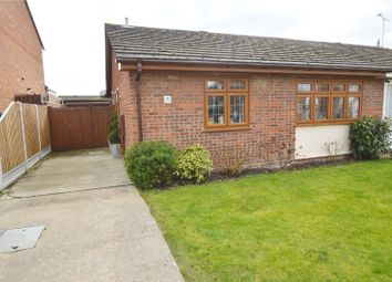 Thumbnail 2 bed semi-detached bungalow for sale in Avon Close, Rochford, Essex