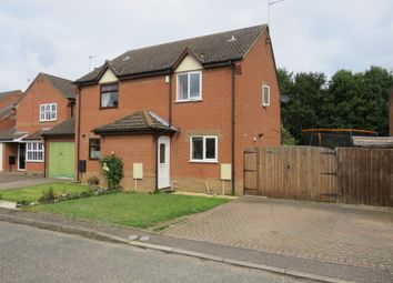 Thumbnail 2 bedroom semi-detached house for sale in Bayfield, Attleborough