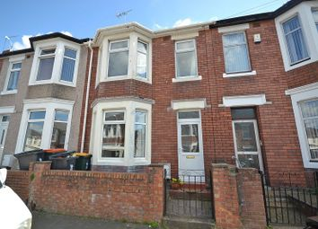 Thumbnail 3 bed terraced house to rent in Cumberland Road, Newport