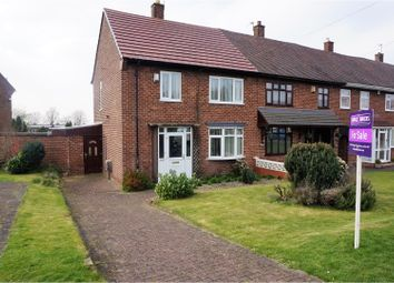 Thumbnail 3 bedroom end terrace house for sale in Bushbury Lane, Wolverhampton
