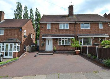 2 bed semi-detached house for sale in Ormscliffe Road, Rednal, Birmingham, West Midlands B45