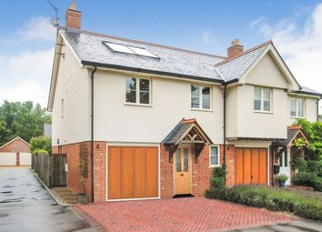 Thumbnail 4 bed semi-detached house for sale in Chelmsford Road, Hatfield Heath, Bishop's Stortford