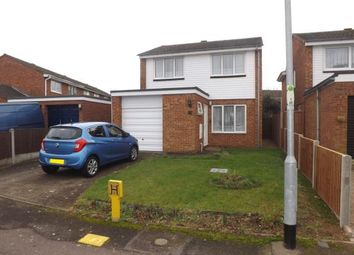 Thumbnail 3 bed detached house for sale in Beech Avenue, Biggleswade, Bedfordshire