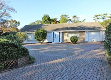 Thumbnail 3 bed detached bungalow for sale in Wharncliffe Road, Highcliffe, Christchurch, Dorset