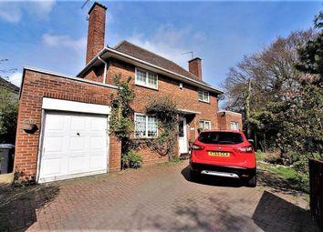 Thumbnail 4 bed detached house for sale in Monckton Crescent, Lowestoft