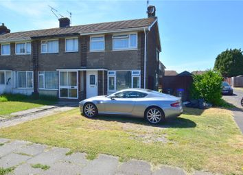 Thumbnail 2 bed end terrace house for sale in Garden Close, Sompting, West Sussex