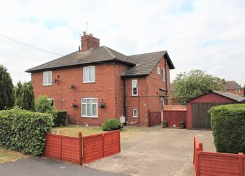 Thumbnail 3 bed semi-detached house for sale in Station Road, Branston, Lincoln