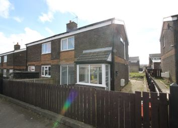 Thumbnail 2 bed semi-detached house for sale in 17 Wareham Way, Sunnybrow, Crook, County Durham