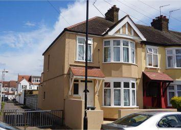 Thumbnail 3 bed end terrace house for sale in Dersingham Avenue, London