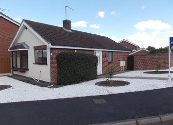 Thumbnail 3 bed detached bungalow for sale in Huntingdon Drive, Castle Donington, Derby