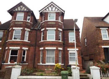 Thumbnail 2 bed flat to rent in St. Johns Church Road, Folkestone