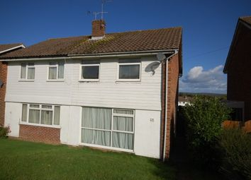 Thumbnail 3 bed semi-detached house to rent in Jeffreys Way, Uckfield