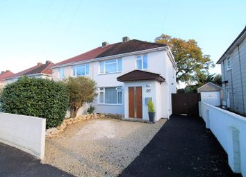Thumbnail 3 bed semi-detached house for sale in The Broadway, Northbourne, Bournemouth