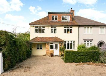 Thumbnail 5 bedroom semi-detached house for sale in Seymour Plain, Marlow, Buckinghamshire