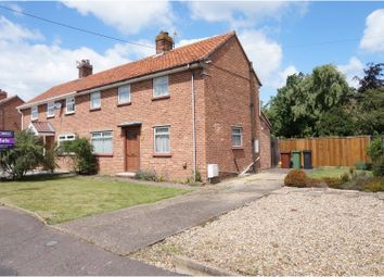 Thumbnail 3 bed semi-detached house for sale in Wildernessclose, Harleston