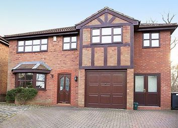 Thumbnail 5 bedroom detached house for sale in Clough Hall Road, Kidsgrove, Stoke-On-Trent