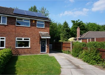 Thumbnail 3 bed semi-detached house for sale in Osprey Close, Runcorn