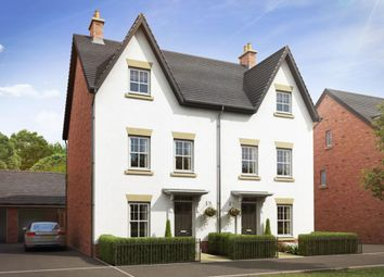 "Thumbnail 4 bed semi-detached house for sale in ""Woodbridge"" at Harbury Lane, Heathcote, Warwick"