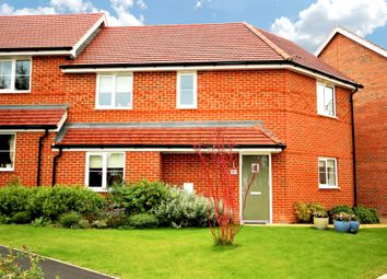 Thumbnail 3 bed semi-detached house to rent in Rana Drive, Church Crookham, Fleet