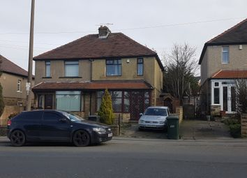 Thumbnail 3 bed semi-detached house to rent in Cemetery Road, Bradford