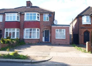 Thumbnail 4 bed terraced house to rent in Oakwood Park Road, Southgate