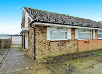 Thumbnail 2 bedroom semi-detached bungalow for sale in Stroud Green Drive, Bognor Regis