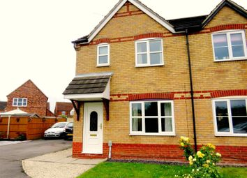 Thumbnail 3 bed semi-detached house to rent in Marbury Park, Kingswood, Hull