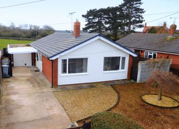 Thumbnail 3 bed bungalow for sale in Nantwich Road, Wrenbury, Nantwich
