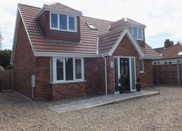 Thumbnail 3 bedroom detached bungalow for sale in Aerodrome Road, Thorpe St Andrew, Norwich