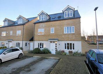 Thumbnail 3 bed semi-detached house for sale in Felsted, Caldecotte, Milton Keynes, Buckinghamshire