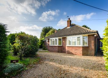 Thumbnail 3 bed detached bungalow for sale in Mill Road, Alpington, Norwich