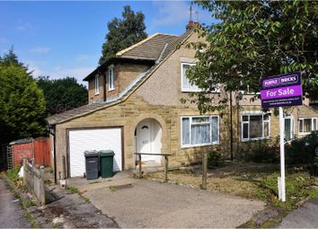 Thumbnail 3 bedroom semi-detached house for sale in Shay Drive, Bradford