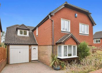 Thumbnail 4 bed detached house for sale in Chaucer Close, Nork, Banstead