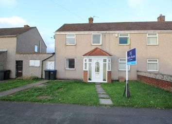 Thumbnail 3 bed semi-detached house for sale in Edward Avenue, Bowburn, Durham