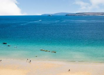 Thumbnail 1 bed flat for sale in St. Ives, Cornwall