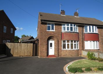 Thumbnail 3 bed semi-detached house for sale in East Avenue, Mickleover, Derby