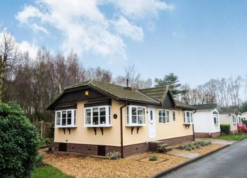 Thumbnail 2 bed bungalow for sale in Woodlands Park, Wash Lane, Allostock, Knutsford