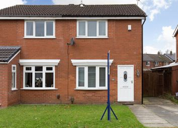Thumbnail 2 bed semi-detached house for sale in Churchfield, Shevington, Wigan