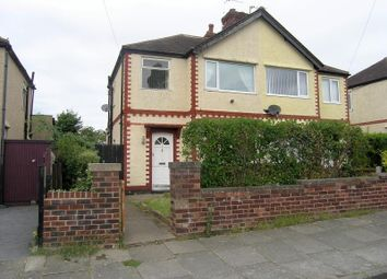 Thumbnail 3 bed semi-detached house for sale in Macdonald Road, Moreton, Wirral