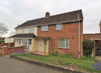Thumbnail 3 bed semi-detached house for sale in Deerhurst Crescent, Cosham, Portsmouth