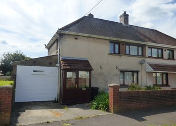 Thumbnail 3 bed property for sale in Morfa Glas, Glynneath, Neath .