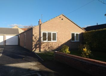 Thumbnail 2 bed bungalow for sale in The Paddock, Burton Salmon, Leeds