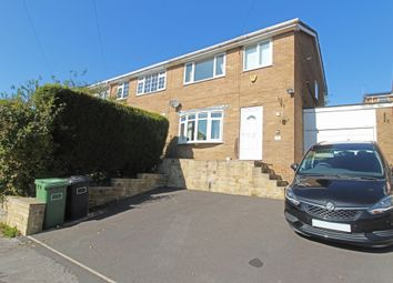 Thumbnail 3 bed semi-detached house for sale in Pennine Close, Upperthong, Holmfirth